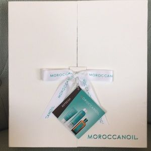 Brand new set of Moroccanoil products